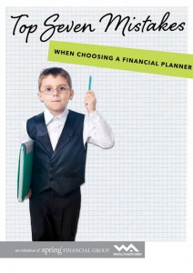 Top 7 Mistakes When Choosing a Financial Planner - eBook cover