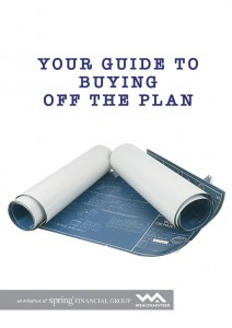 Your guide to buying off the plan - eBook cover
