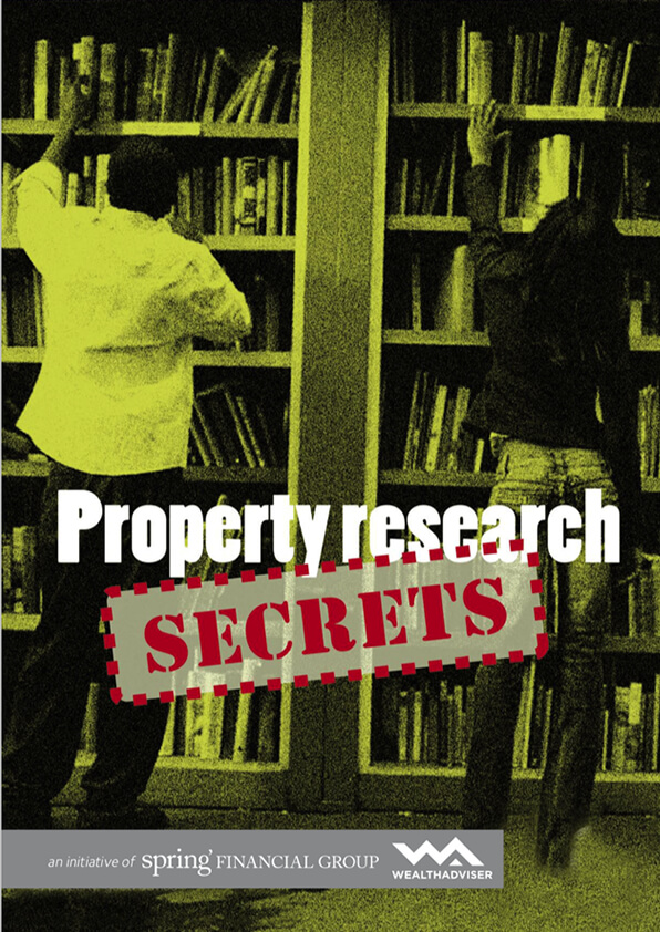 Property research secrets - eBook cover