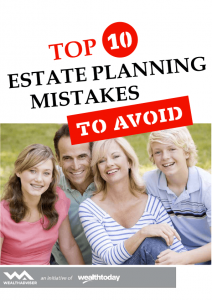 Top 10 Estate Planning Mistakes to Avoid - eBook cover