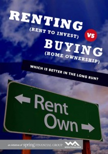 Renting vs Buying - eBook cover