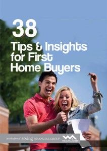 38 Tips & Insights for First Home Buyers - eBook cover