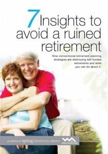 7 Insights to Avoid a Ruined Retirement - eBook cover