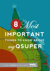 8 Most Important Things to Know About My QSuper -eBook cover