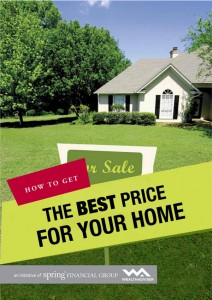 How To Get The Best Price For Your Home - eBook cover