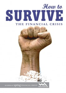 How to survive the financial crisis - eBook cover