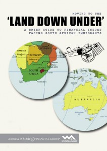 Moving to the land down under from South Africa - eBook cover