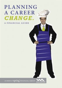 Planning a career change - eBook cover