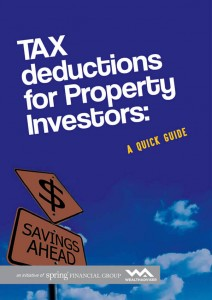 Tax Deductions for Property Investors - eBook cover