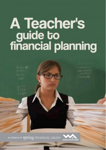 A Teachers Guide to Financial Planning - eBook cover