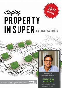 Buying Property with Super – The Pros & Cons - eBook cover