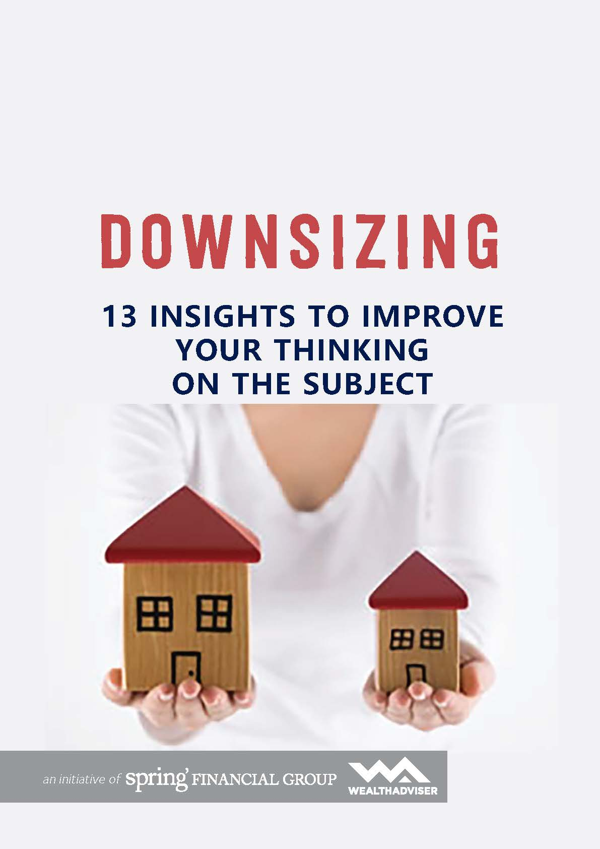 Downsizing - 13 Insights to Improve Your Thinking on the Subject - eBook cover
