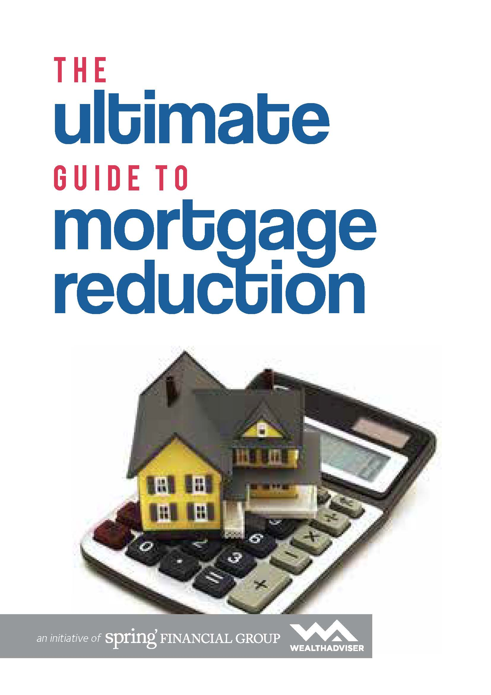 Mortgage Reduction - eBook Cover